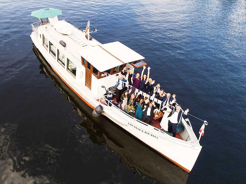 Die MS Heidelberg als Partyboot Berlin