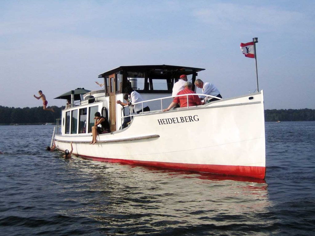 Motorboot Heidelberg für Schiffstouren Berlin